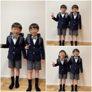 今日はどこでも入学式❗ルーヴの双子ちゃん達も🍀