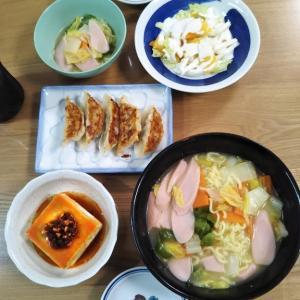 11/18 ★ランチは焼肉・夜はちゃんぽんと餃子