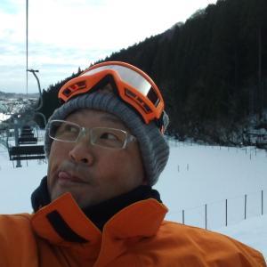 ようやく今年初スキー