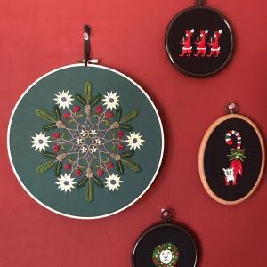 クリスマス刺しゅうを楽しむ2020