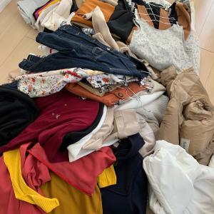 服を数えてみた@2020/10月。