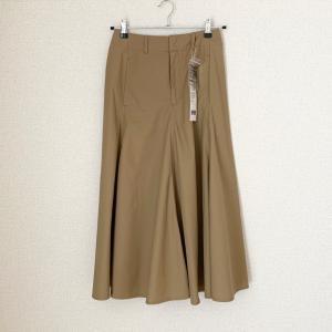 秋に向けて、レディライクなスカート。