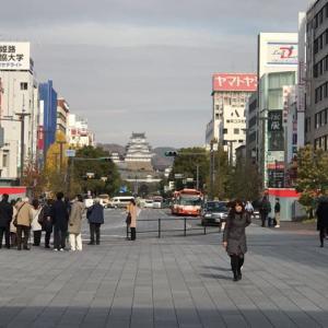 姫路城登城