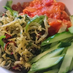 【料理レシピ】作り置きの3色パスタ