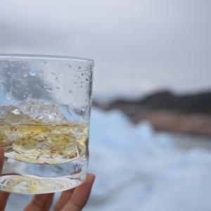 やまぐちとむらおか、ペリトモレノ氷河を歩く