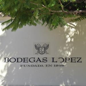 メンドーサでワイナリー巡り♪♪ボデガ・ロペス