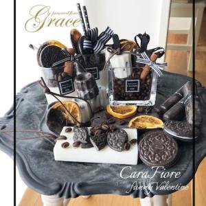 チョコの香りいっぱいです♪熊本プリザーブドフラワー教室・アーティフィシャルフラワー教室Grace