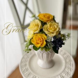 父の日のプレゼントに♪熊本プリザーブド&アーティフィシャルフラワー教室・販売Grace