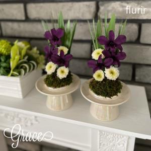 お手軽な仏花おすすめです♪熊本プリザーブドフラワー教室・販売Grace