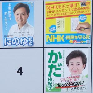 7/21(日) 滋賀の参院選、開票結果 速報