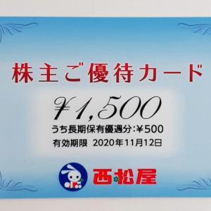西松屋 (7545)から株主優待が届きました(2月20日、8月20日銘柄)