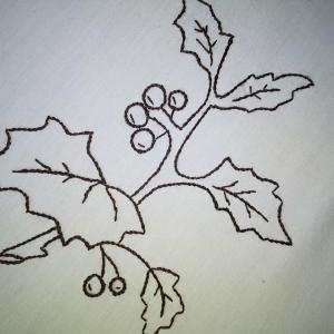 刺繍です〜(◕ᴗ◕✿)