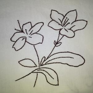 チクチク…刺繍
