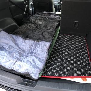 【保存版】CX-5で快適に車中泊をする方法(最適なマットや工夫を紹介!!)