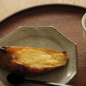 焼き芋とおうちごはん