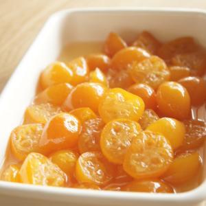 おうちごはんと金柑の甘露煮
