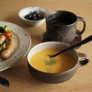 にんじんスープでおうちごはん