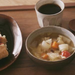 テキトー野菜スープでおうちごはん