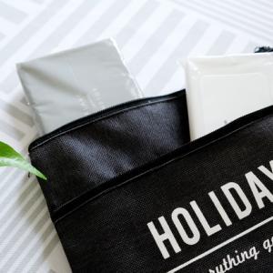 キャンドゥ*大人可愛い新作で、バッグをすっきり! & セリア・うわさの超~シンプルグッズ♪