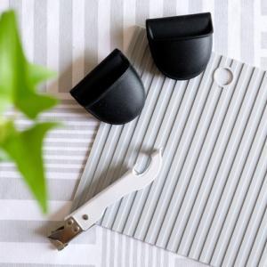 セリアで発見! ぜーんぶ新作☆可愛く便利なモノトーンキッチン雑貨、3つ♪ & IKEAの激ラク美収納