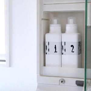【100均検証】液体洗剤ボトルを粉末洗剤で使った結果