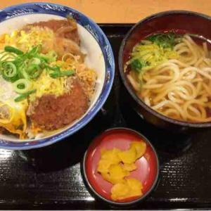 【6/12 - 1R】カツ丼・ミニうどん・たこ焼き