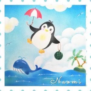 空からペンギン