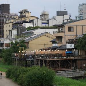 京都鴨川の川床を初体験