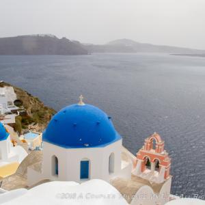 死ぬまでに行ってみたい景色「ギリシャ・サントリーニ島」