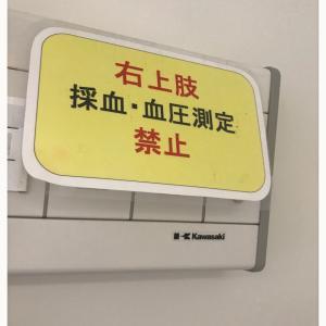 再再々抗がん剤治療①入院〜退院