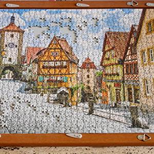 【ドイツ】外出自粛でジグソーパズルが流行っているらしい・・・世界最小ピース。
