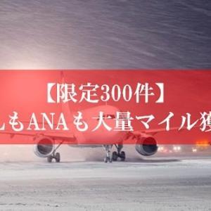 【一撃13,575マイル】限定300件の陸マイラーの裏技が壮絶 | JALもANAも大量のマイルが貯まるチャンス到来