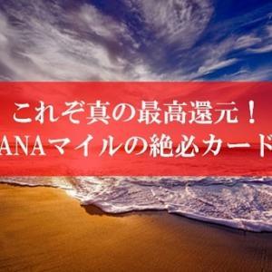 【復活】ANA陸マイラー祭りが壮絶ポイントアップ! | ANAマイルが貯まる絶必の1枚が久しぶりにポイントサイトで高還元に。