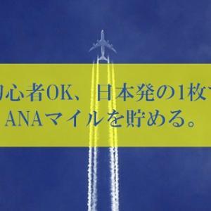 【初心者OK】ANA陸マイラー待望の日本ブランドの1枚が高騰中! | ANAマイルが貯まる年会費無料のポイントアップ。