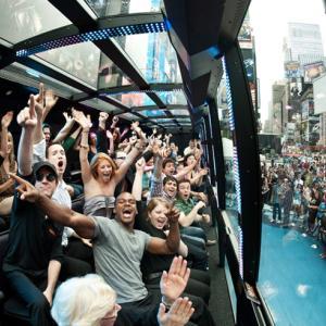 NYの新感覚アトラクション「ザ・ライド」体験記:突然始まる街角パフォーマーとの一体感を楽しめる未来型バスに乗って(マイルで世界一周旅行記㊼:ニューヨーク編⑩)