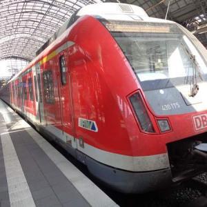 ドイツ・フランクフルト空港から市内への電車の行き方(マイルで世界一周旅行記㉜:ドイツ編①)