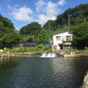 浅川国際鱒釣場へ初釣行