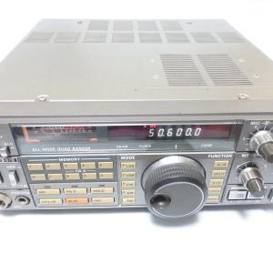 買い取りした無線機の整理、点検 | ケンウッドのTS-670