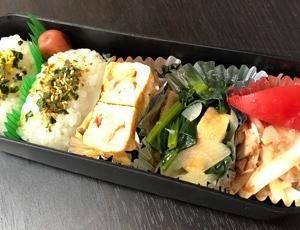 【今日のお弁当】 ツナと新玉の和風サラダ