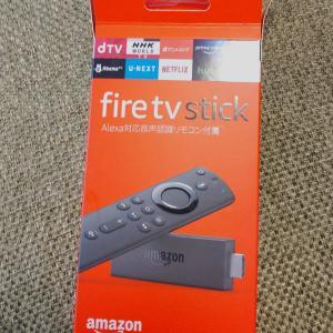 「Fire TV Stick」なるものをテレビに繋いでみたら👀…凄いわぁ\(^o^)/