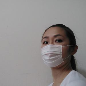 マスクと姿勢♡
