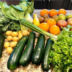 有機野菜宅配サービスのケールを使ったレシピ2点