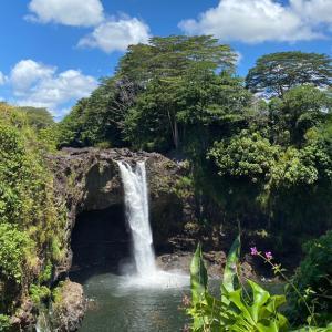 ハワイ島 4日目。。。 滝