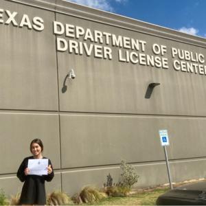 遂に免許取得!