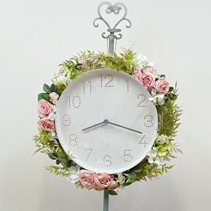 アトリエのお花時計が完成
