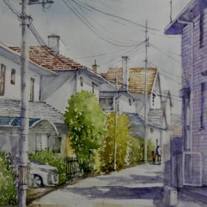 近くの住宅街