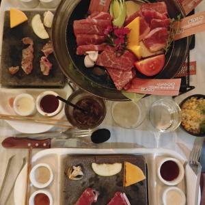 日本式石焼きレストラン「Ishiya 」ディナー♫
