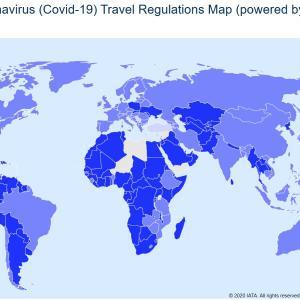 世界各国の入国規制について。今渡航できる国は?