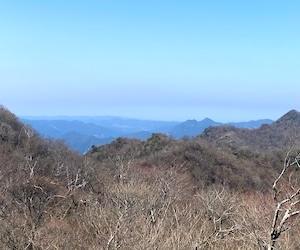 113:御前岳〜釈迦岳2 (杣の里渓流公園から)