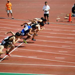 中学100m